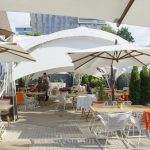 Летнее настроение на веранде ресторана Oxus