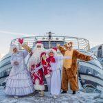 Новый год на борту яхт Флотилии «Рэдиссон Ройал»