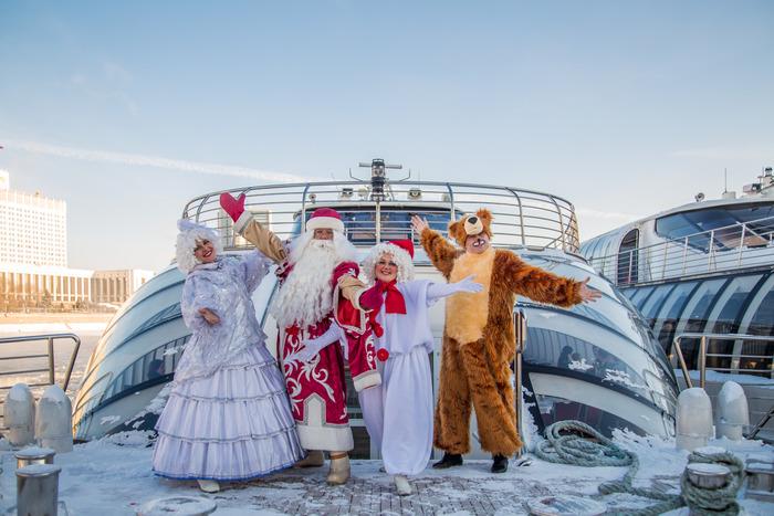 """Новый год на борту яхт Флотилии """"Рэдиссон Ройал"""""""