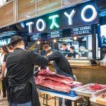 Большая рыба и много вина в ресторане Tokyo