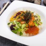 Боулы с рисом, гриль-плато и летние десерты в ресторане Yoko