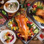 Новогодний стол от ресторана «На мельнице»