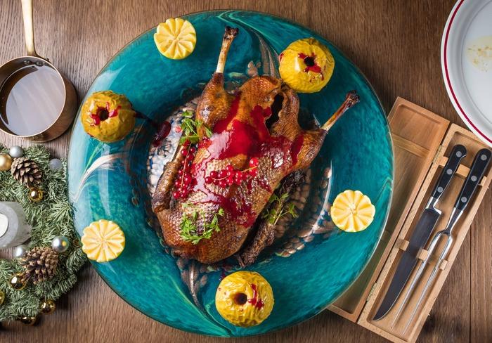 Рождественские блюда навынос в Peshi